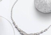 kalung berlian mewah